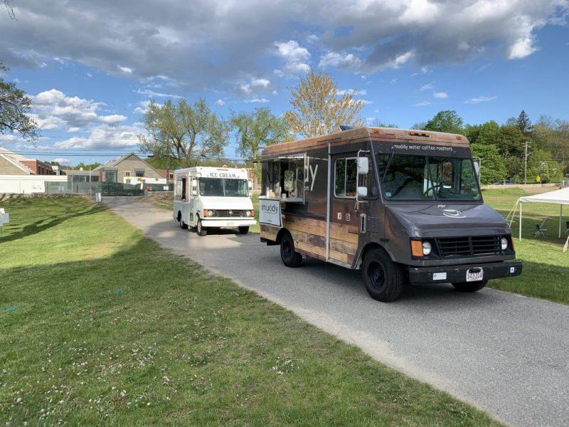 Coffee and Ice Cream Trucks